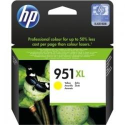 Cartouche jaune haute capacité HP pour officejet pro 8100 / 8600 ... (N°951XL)