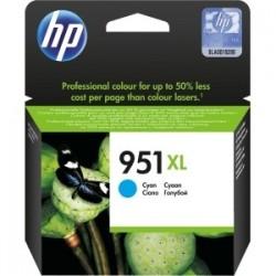 Cartouche cyan haute capacité HP pour officejet pro 8100 / 8600 (N°951XL)