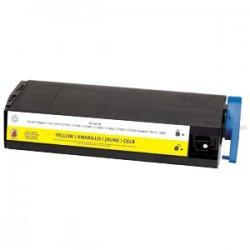Toner générique jaune MédiaSciences 100% neuf pour Oki C7000/7200/7400...(Type C2)