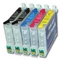 Pack de 5 cartouches génériques pour Epson D68 / D88...