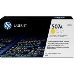 Toner jaune HP pour laserjet Entreprise 500 M551 .... (507A)