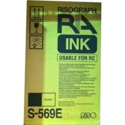 2 * Cartouche d'encre noire pour Riso RC 5800