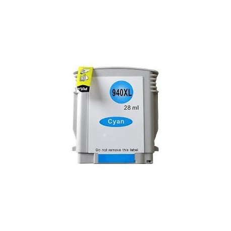 Cartouche cyan générique pour HP officeJet Pro 8000 / 8500 n°940XL