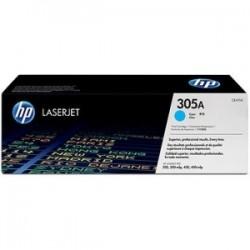 Toner cyan HP pour laserjet Pro 400 (305A)