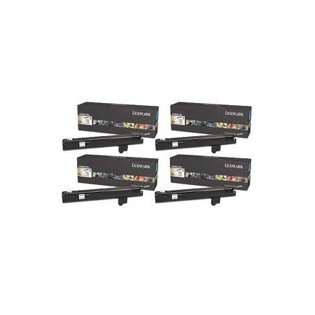 Pack de 4 toners longues durées Lexmark pour 940e / 945e