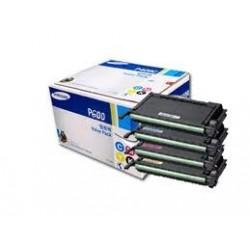 Pack de 4 toners Samsung pour CLP-600(N) / CLP-650(N)