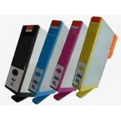 Pack de 4 cartouches génériques pour HP photosmart B8550 / C5380... (N°364XL / N°178XL) (N9J74AE - J3M83AE - CZ676EE)