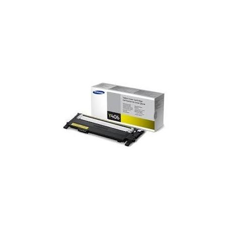 Toner jaune Samsung pour CLP360 / CLP365 / CLX3300 ... (SU462A)