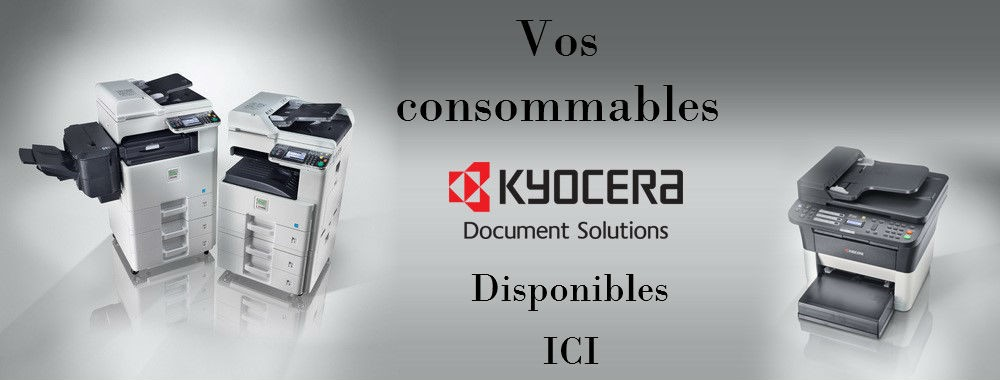 Vos consommables Kyocera ICI