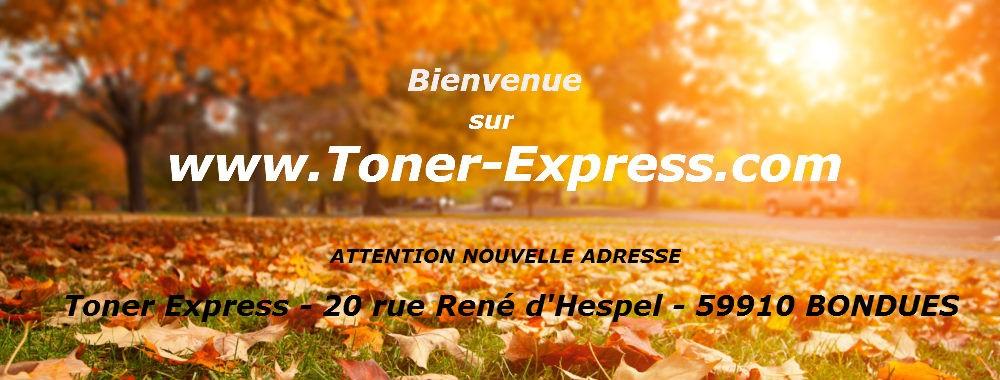 Bienvenue chez Toner Express