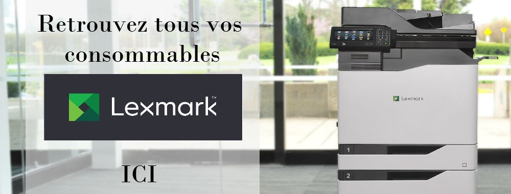 Consommables Lexmark